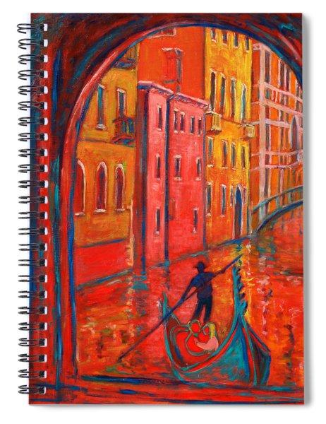 Venice Impression Viii Spiral Notebook