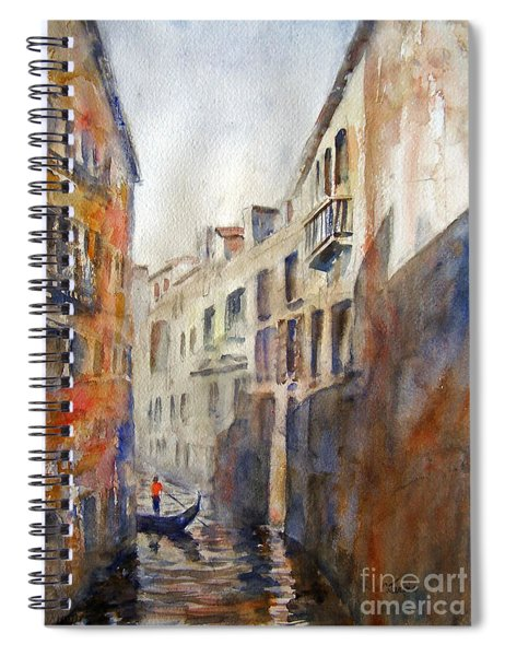 Venice Travelling Spiral Notebook