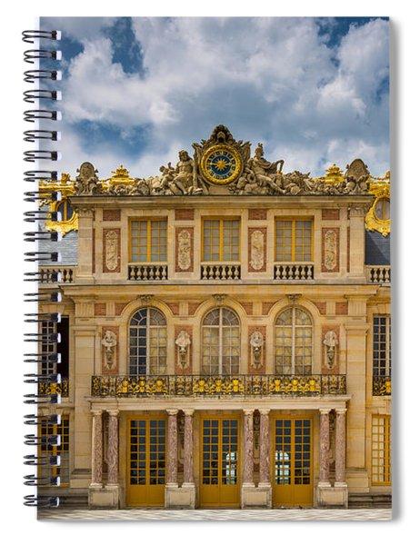 Versailles Courtyard Spiral Notebook