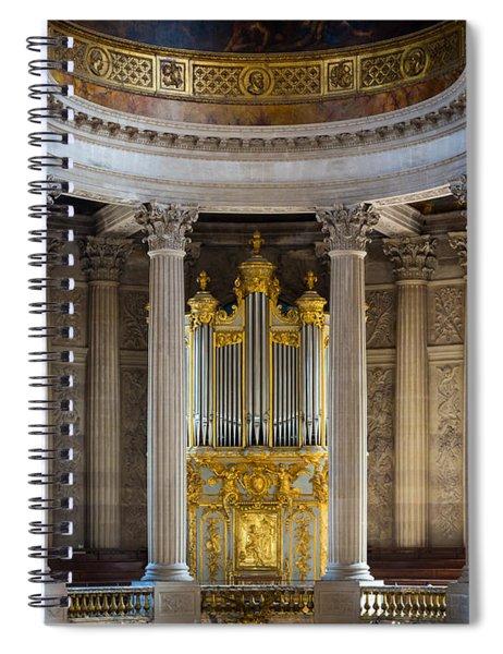 Versailles Organ Spiral Notebook