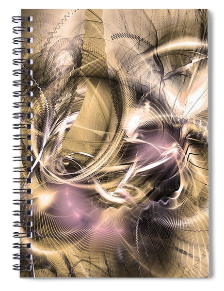 Vestigium Aeternum - Abstract Art  Spiral Notebook