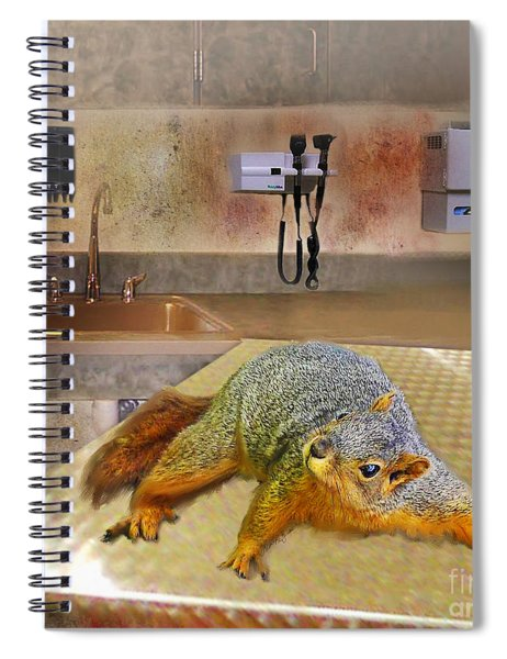 Vet Office Spiral Notebook