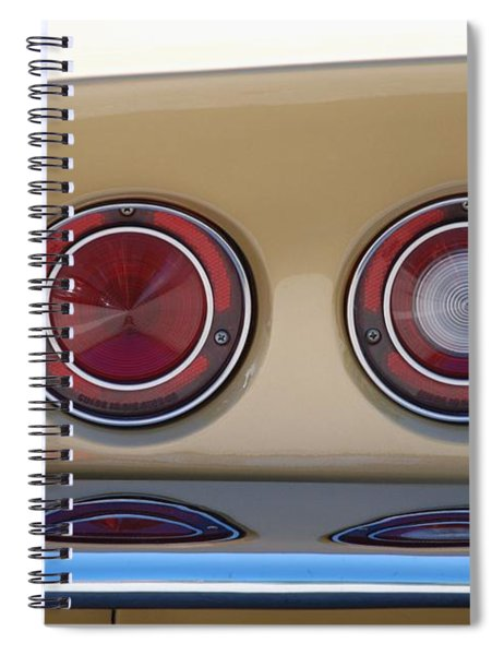 Vette Lights Spiral Notebook