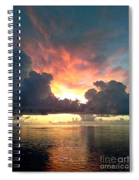 Vibrant Skies 2 Spiral Notebook