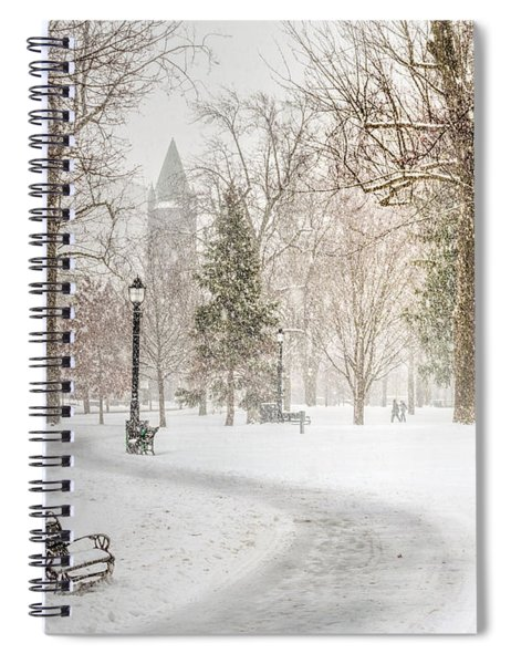 Spiral Notebook featuring the photograph Victoria Park by Garvin Hunter