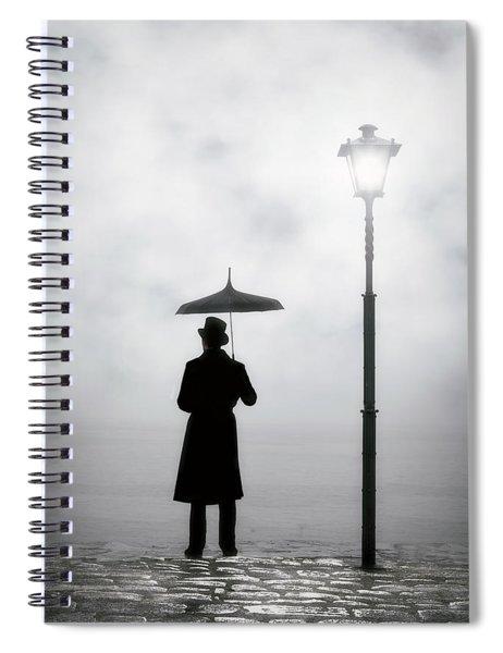 Victorian Man Spiral Notebook