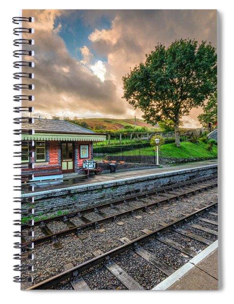 Victorian Station Spiral Notebook