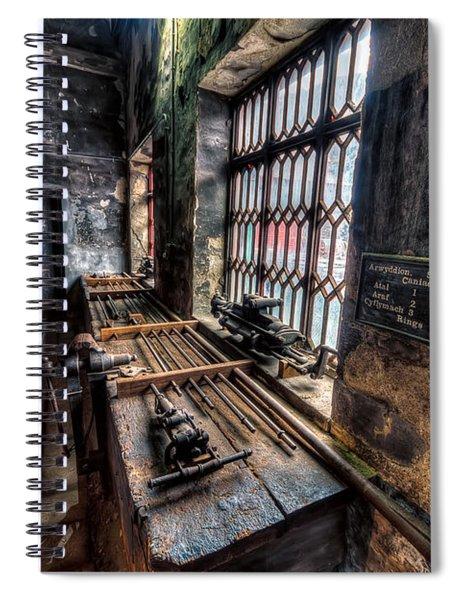 Victorian Workshops Spiral Notebook