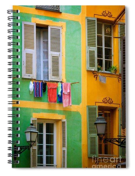 Vieille Ville Windows Spiral Notebook