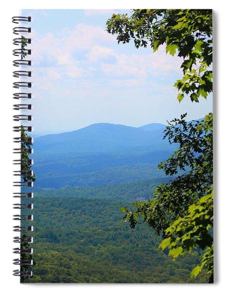 View At Amicalola Spiral Notebook