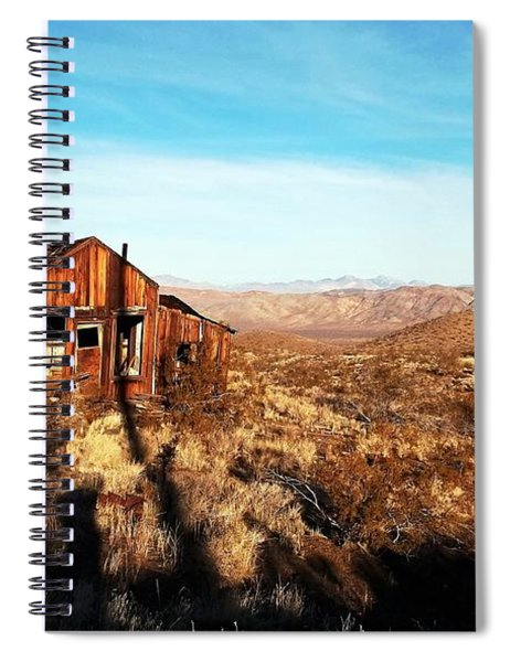 View Estate - Randsburg California Spiral Notebook