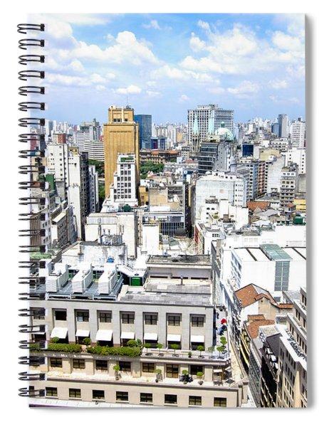 View From Edificio Martinelli - Sao Paulo Spiral Notebook