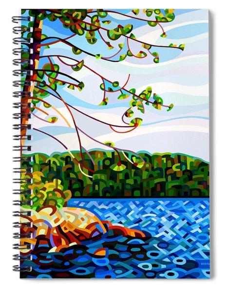 View From Mazengah Spiral Notebook