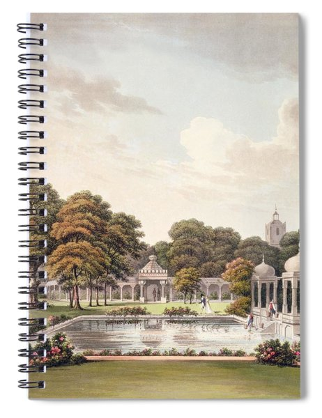 View From The Dome, Brighton Pavilion Spiral Notebook