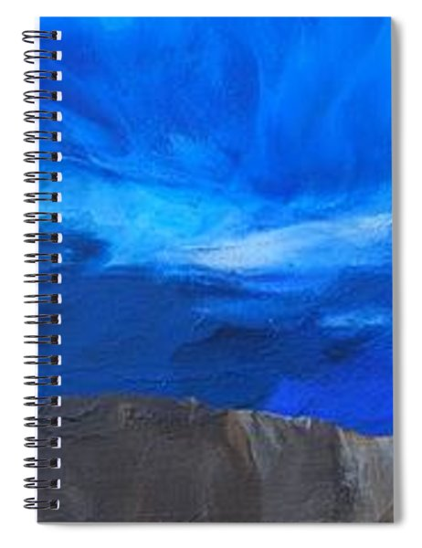 View From The Ridge Spiral Notebook