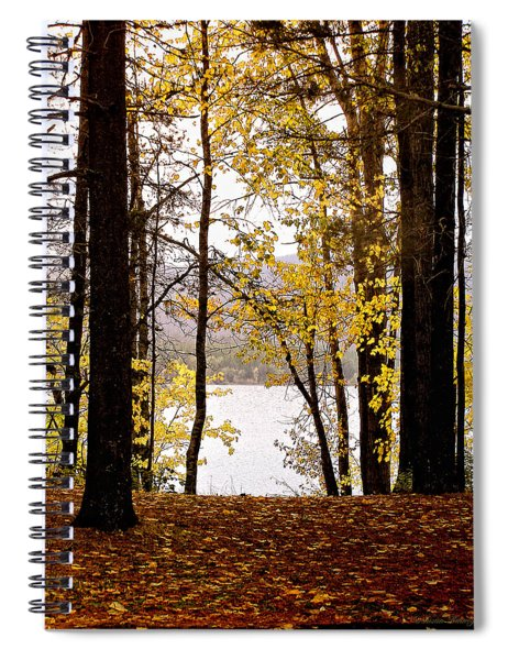 View Of  Lake Mcdonald Spiral Notebook