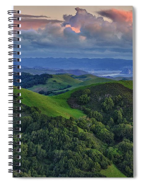 View Of Morro Bay Spiral Notebook