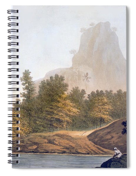 View Of The Jungle Spiral Notebook