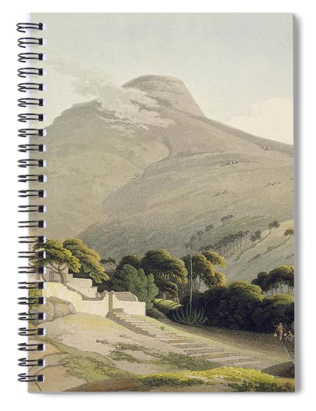 View Of The Lions Head, Plate 28 Spiral Notebook