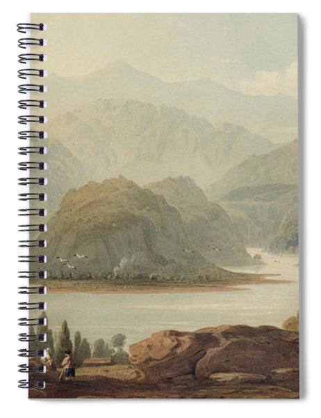 View Of The Mondego River Spiral Notebook