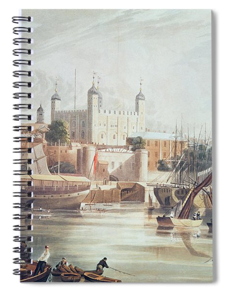 View Of The Tower Of London Spiral Notebook