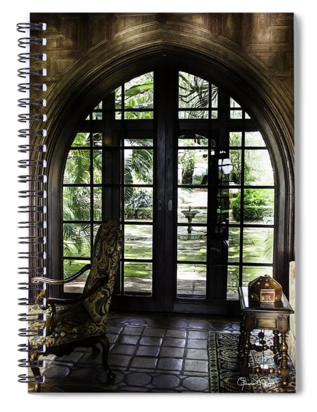 View To The Past Spiral Notebook