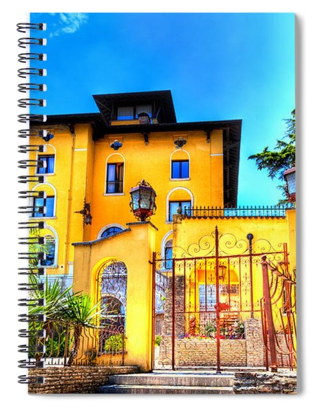 Villa In Sirmione Spiral Notebook