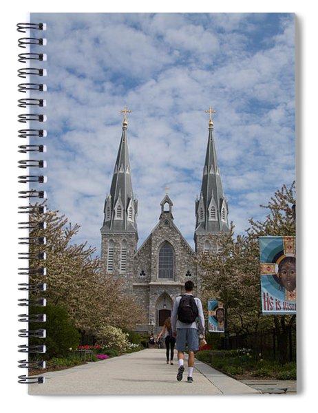 Villanova College Spiral Notebook