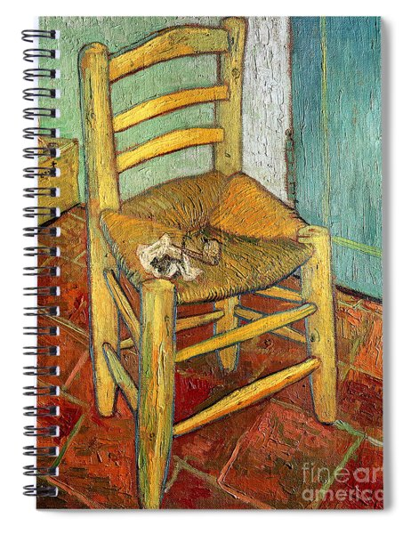 Vincent's Chair 1888 Spiral Notebook