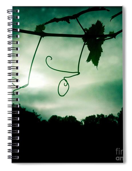 Vines Spiral Notebook