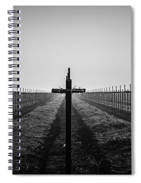 Vineyard Cross Spiral Notebook