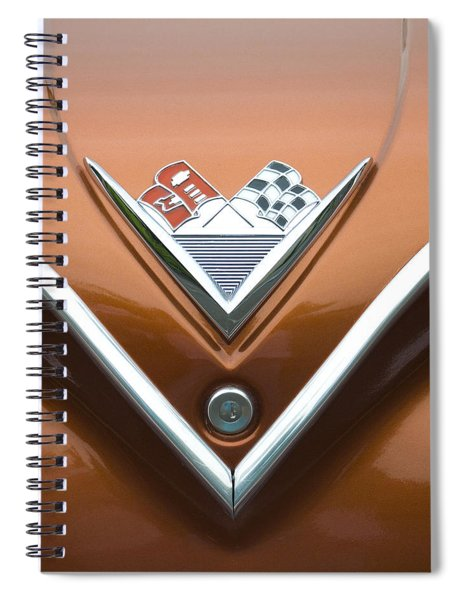 Vintage 1960s Chevrolet Impala Spiral Notebook
