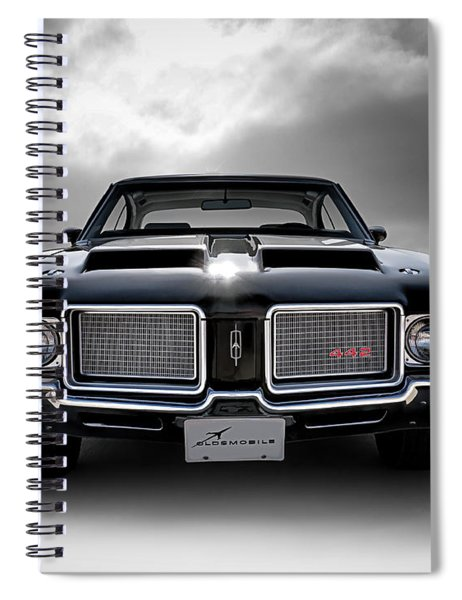 Vintage 442 Spiral Notebook