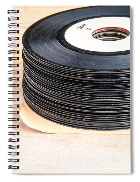 Vintage 45s Spiral Notebook