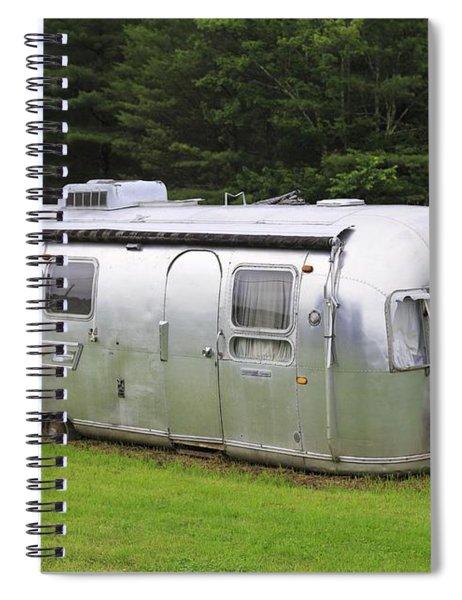 Vintage Airstream Trailer Spiral Notebook