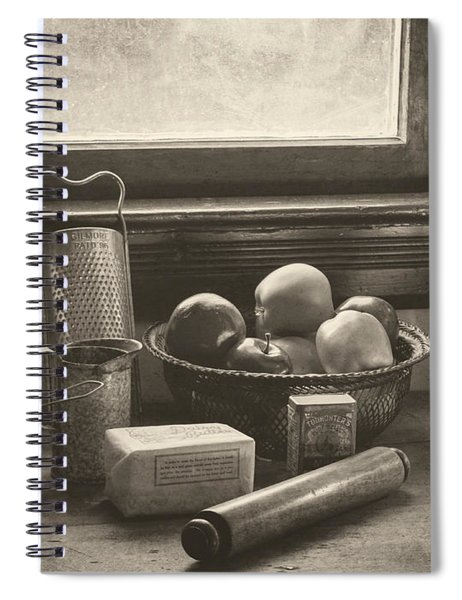 Vintage Art - All The Fixings Spiral Notebook