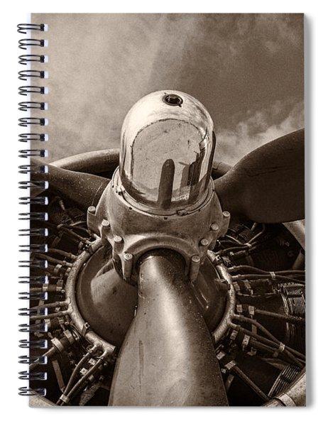 Vintage B-17 Spiral Notebook
