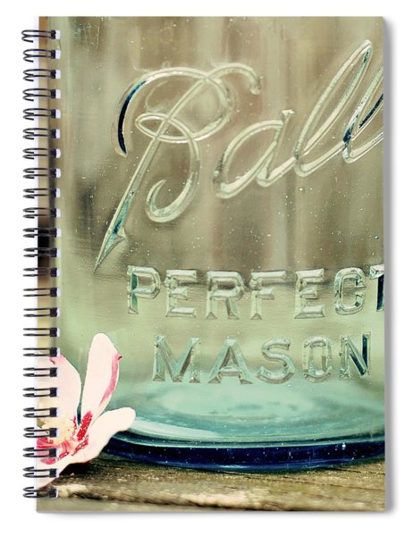 Vintage Ball Perfect Mason Spiral Notebook