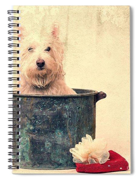 Vintage Bathtime Spiral Notebook