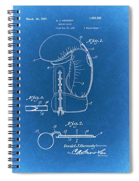 Vintage Boxing Glove Patent 1927 Spiral Notebook