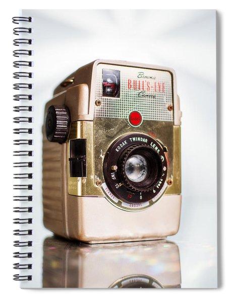 Vintage Brownie Bullseye Camera Spiral Notebook