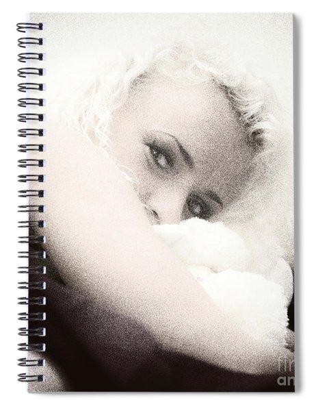 Vintage Eyes Spiral Notebook