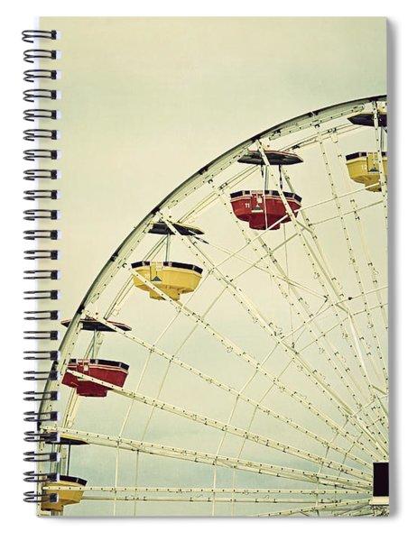 Vintage Ferris Wheel Spiral Notebook