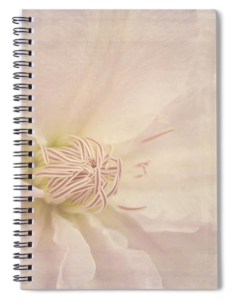 Vintage Flower Art - A Beautiful Place Spiral Notebook