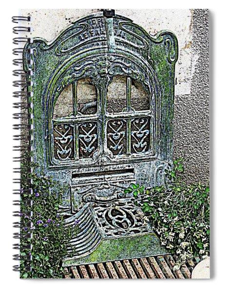 Vintage Garden Grate Spiral Notebook