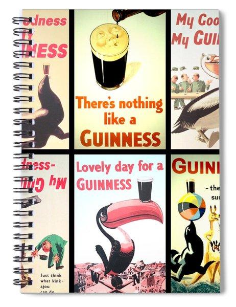 Vintage Guinness  Spiral Notebook