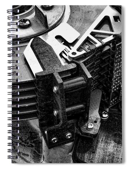 Vintage Hard Drive Spiral Notebook