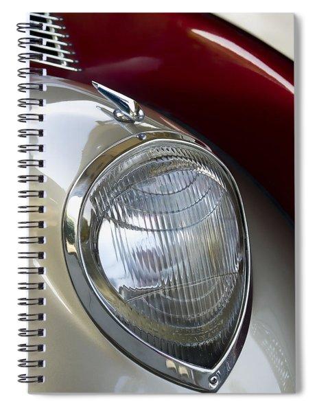 Vintage Headlamp Spiral Notebook