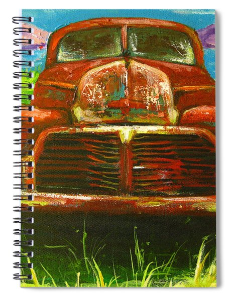 Vintage Love Spiral Notebook