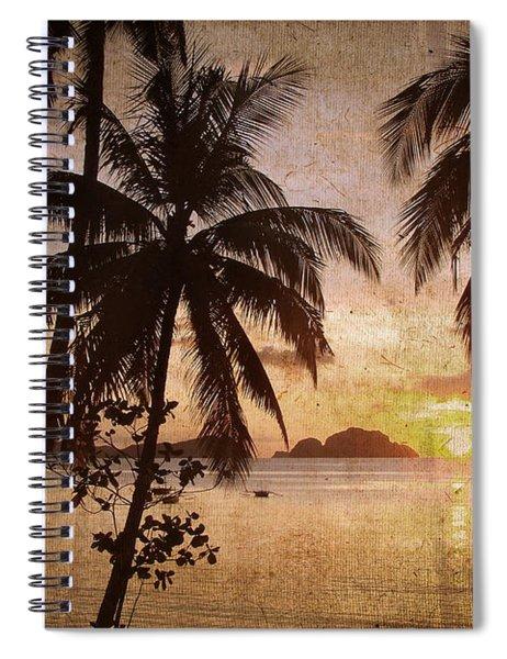 Vintage Philippines Spiral Notebook